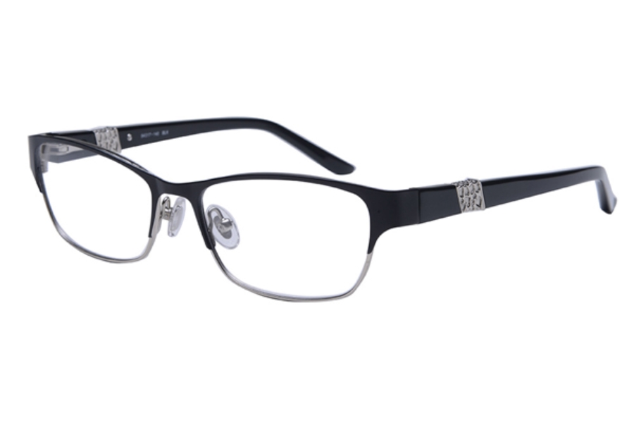 Amadeus A996 Eyeglasses in MBLK Matte Black