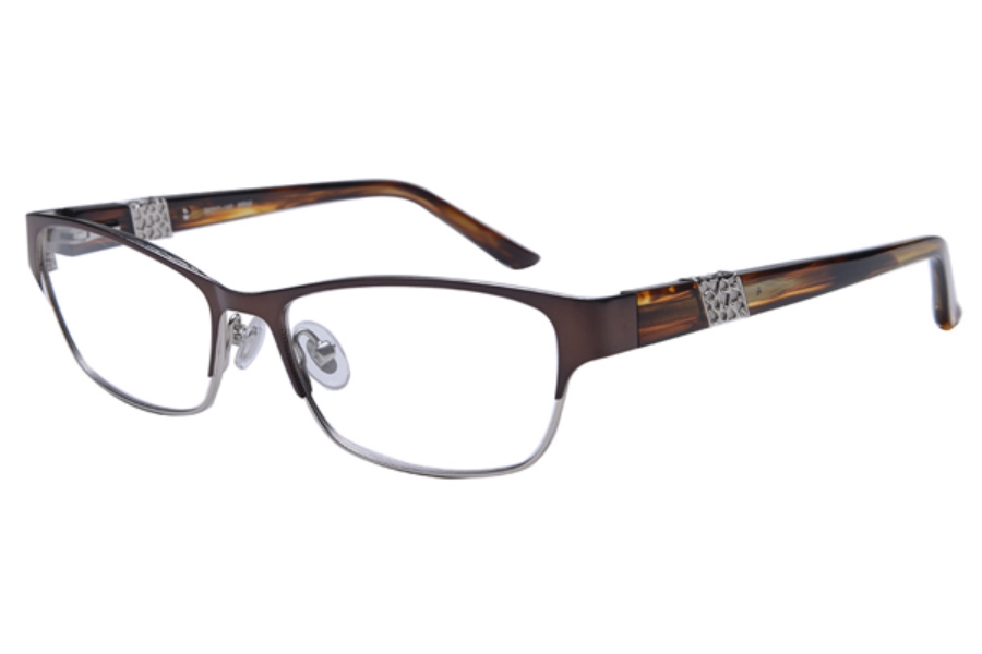 Amadeus A996 Eyeglasses in MBRN Matte Brown