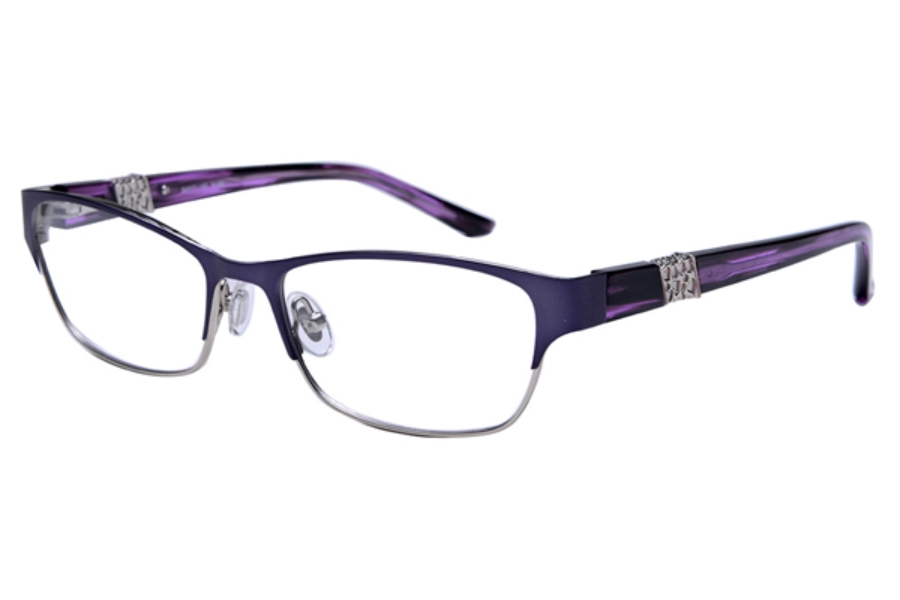Amadeus A996 Eyeglasses in MPUR Matte Purple