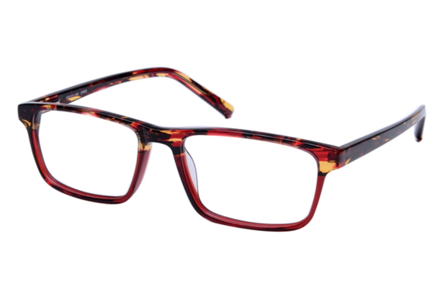 Amadeus A997 Eyeglasses in DRED Demi Red