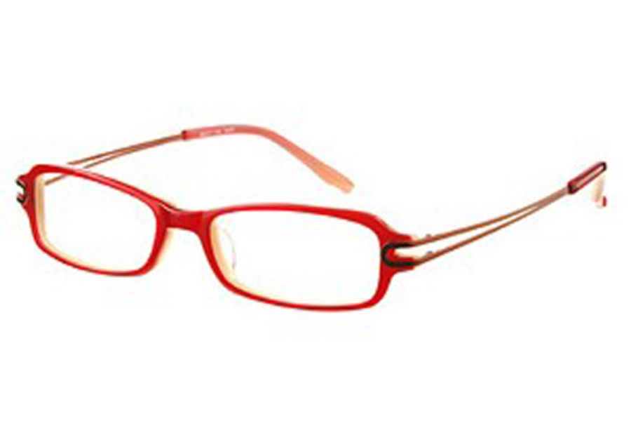 Amadeus AF0503 Eyeglasses in RUBY Ruby Red