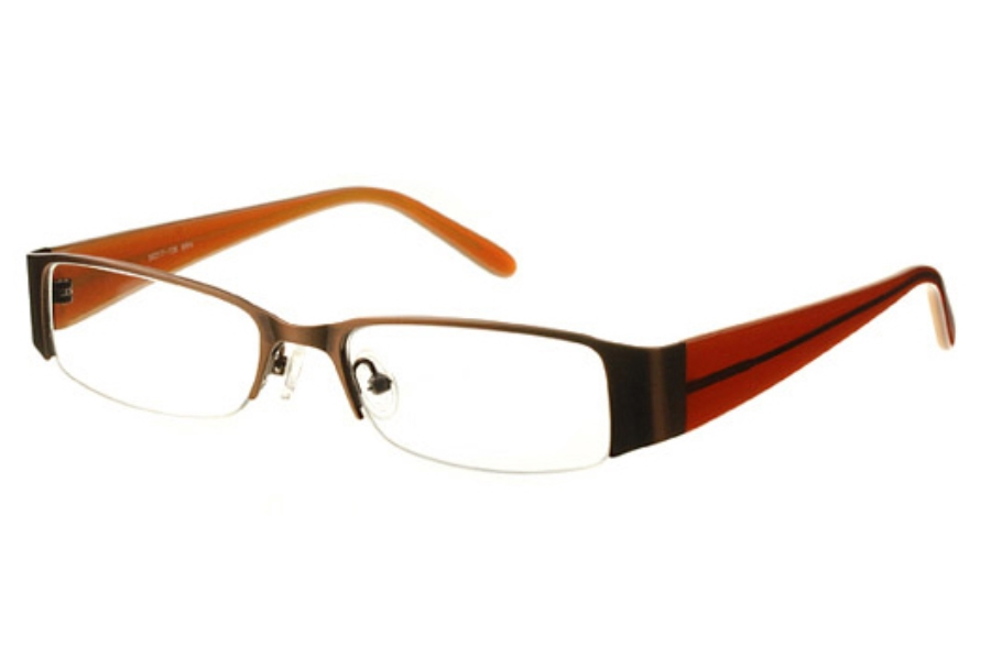 Amadeus AF0511 Eyeglasses in BRN Brown
