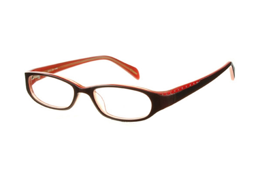 Amadeus AF0621 Eyeglasses in WN Wine