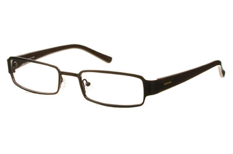 Amadeus AF0627 Eyeglasses in DBR Dark Brown