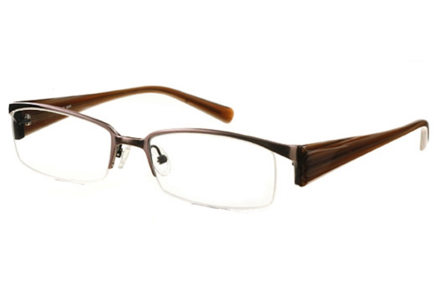 Amadeus AF0631 Eyeglasses in MBR Matte Brown