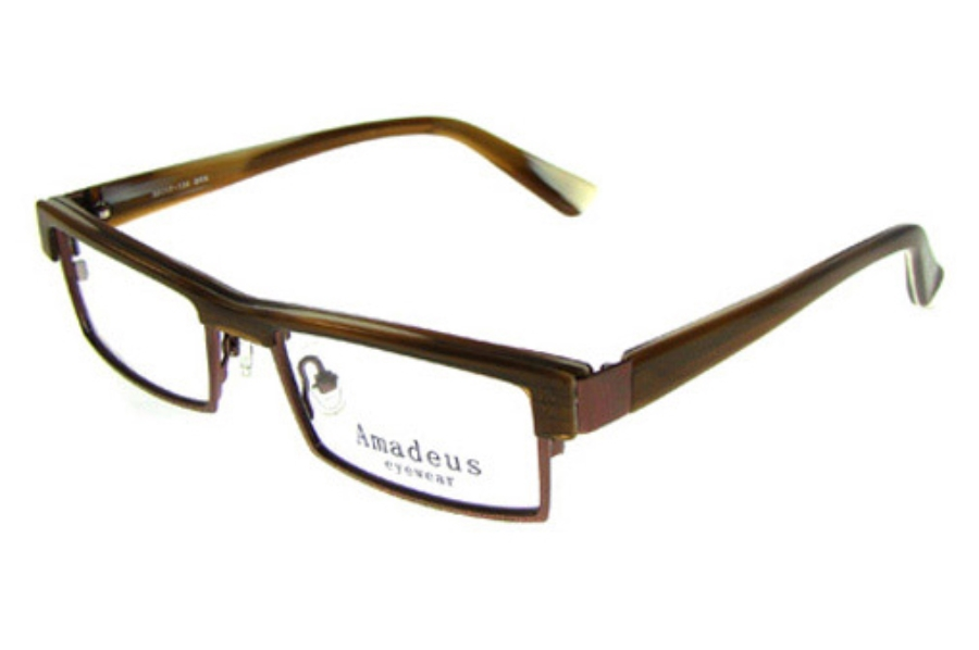 Amadeus AF0723 Eyeglasses in BRN Brown