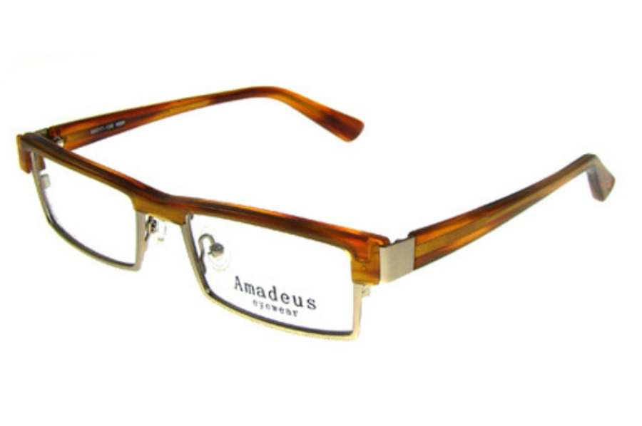 Amadeus AF0723 Eyeglasses in MBR Matte Brown
