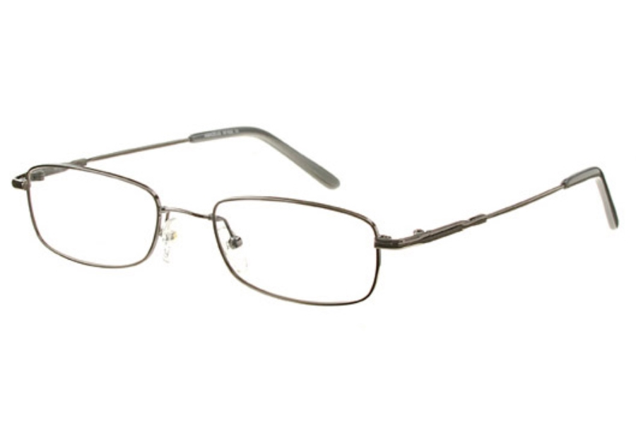 Amadeus AFX02 Eyeglasses in BLK Black