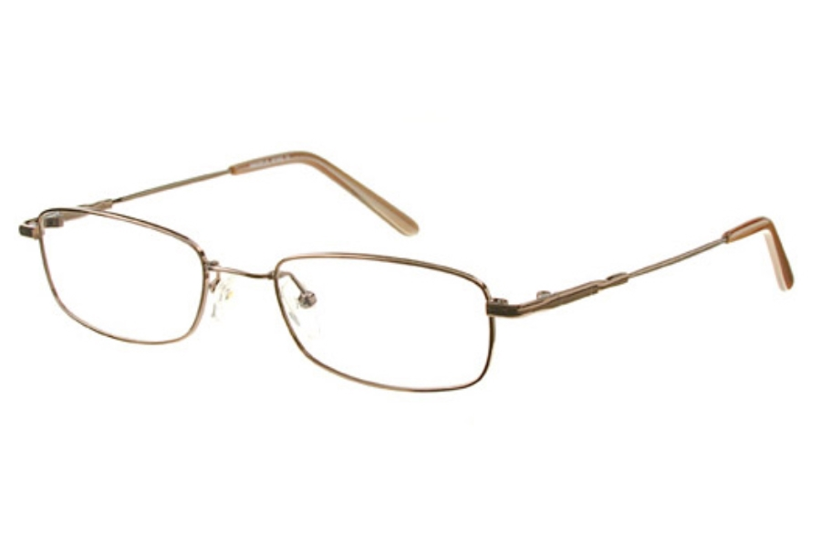 Amadeus AFX02 Eyeglasses in BRN Brown