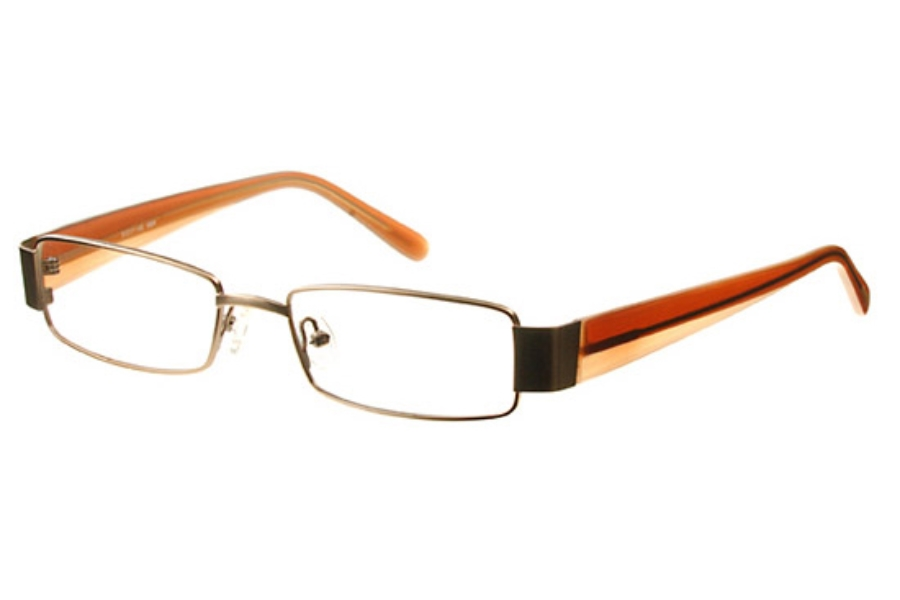 Amadeus AS0601 Eyeglasses in MBR Matte Brown