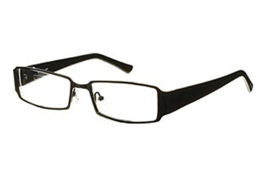 Amadeus AF0628 Eyeglasses in MBK Matte Black