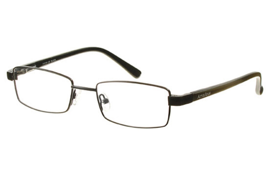 Amadeus AS0708 Eyeglasses in BLK Black