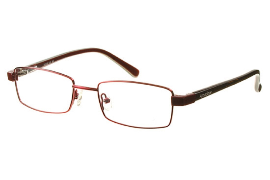 Amadeus AS0708 Eyeglasses in BG Burgundy