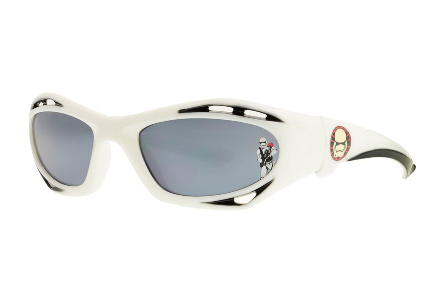 Anarchy Star Wars Kid's Stormtrooper 2 Sunglasses in White w/Gray Lens