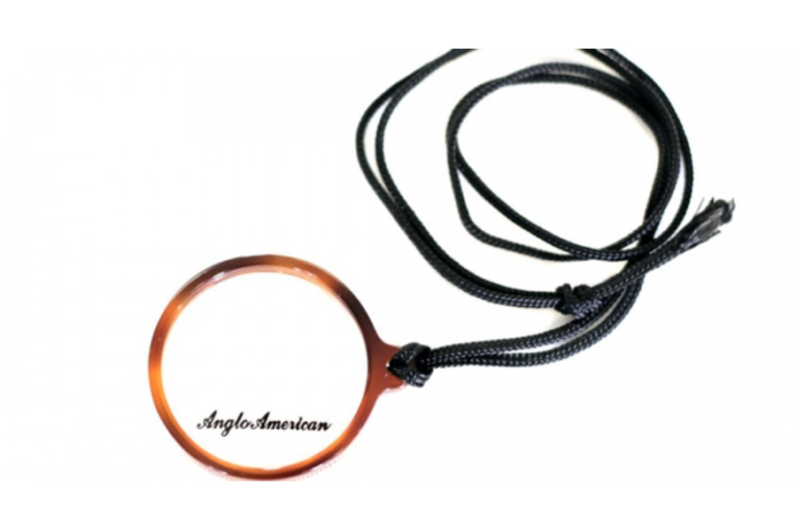 Anglo American Monocle Eyeglasses in DB - Demi Blonde