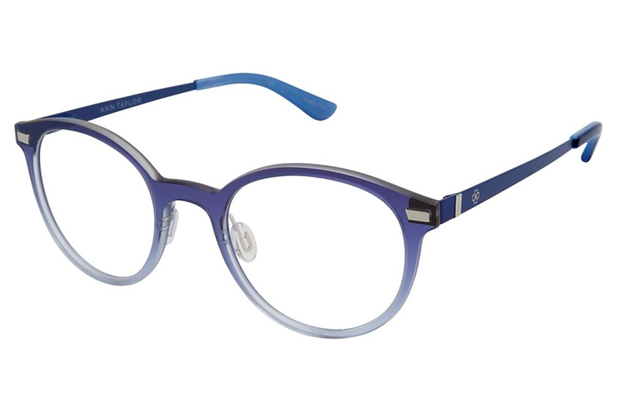 Ann Taylor AT408 Eyeglasses in C02 Navy Fade