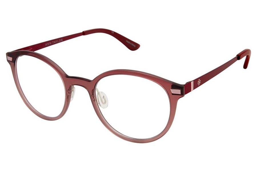 Ann Taylor AT408 Eyeglasses in C03 Burgundy Fade