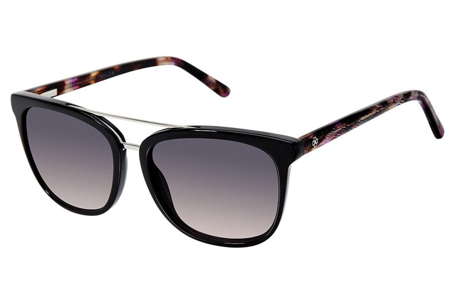 Ann Taylor ATP908 Sunglasses in C01 Black/Purple