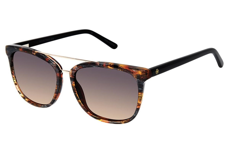Ann Taylor ATP908 Sunglasses in C02 Brown / Black
