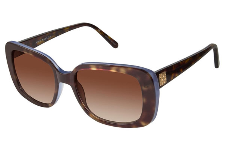 Ann Taylor ATP901 Sunglasses in C02 Tort/Trans Blue