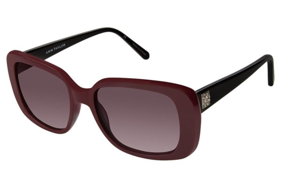 Ann Taylor ATP901 Sunglasses in C03 Mulberry / Blck