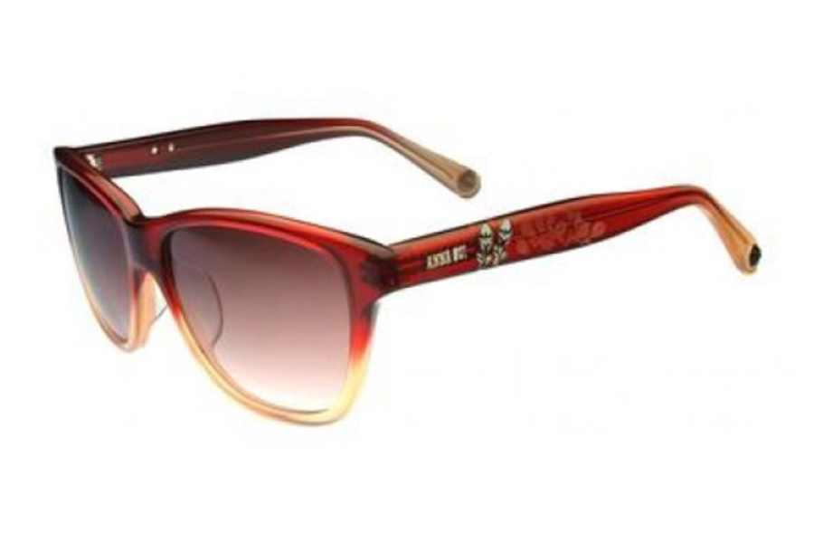 Anna Sui AS853 Sunglasses in 266 RED