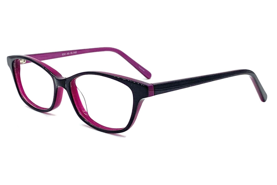 Anthem Sarasota Eyeglasses in BV - Black Violet