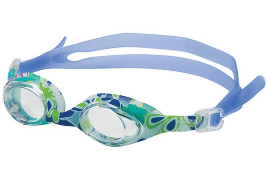 Hilco Leader Sports Aqua Art - Youth (7+ years) Goggles in Blue Flower
