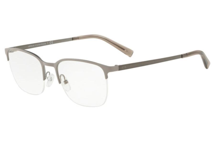 6087f456eb ... Armani Exchange AX1032 Eyeglasses in 6108 Matte Tundra ...