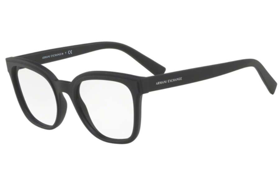 Armani Exchange AX3049F Eyeglasses in 8078 Matte Black