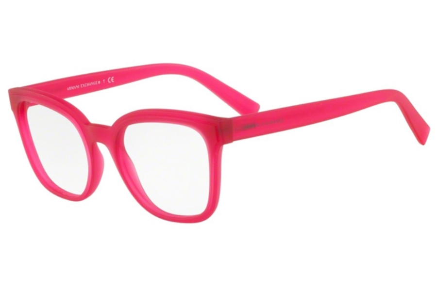 Armani Exchange AX3049F Eyeglasses in 8249 Matte Opal Raspberry