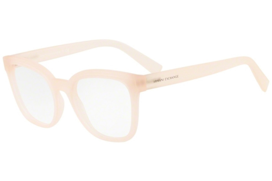 Armani Exchange AX3049F Eyeglasses in 8250 Matte Opal Milky