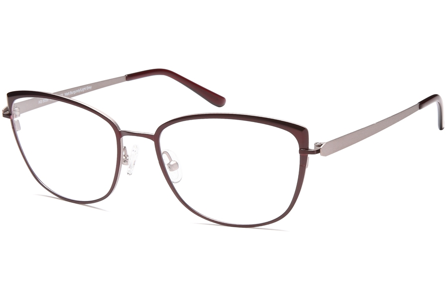 Artistik AG 5035 Eyeglasses in Burgundy/Grey