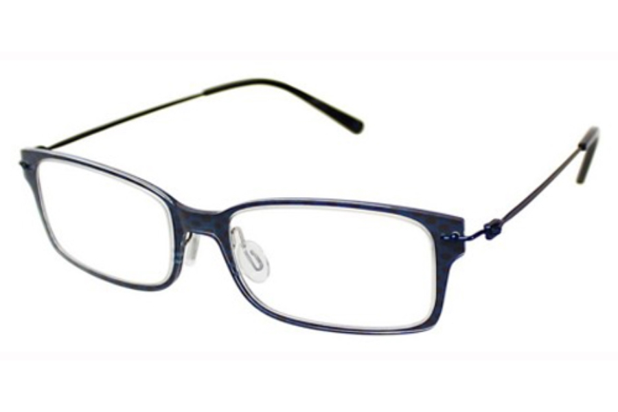 Aspire ASPIRE REAL Eyeglasses in Blue Checkered