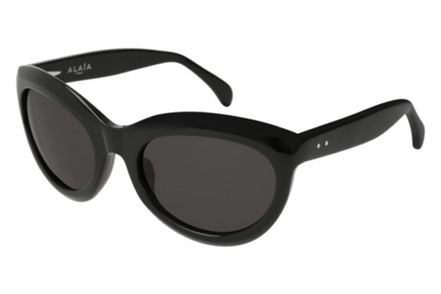Azzedine Alaia AA0005S Sunglasses in 001 Black/Shiny Grey