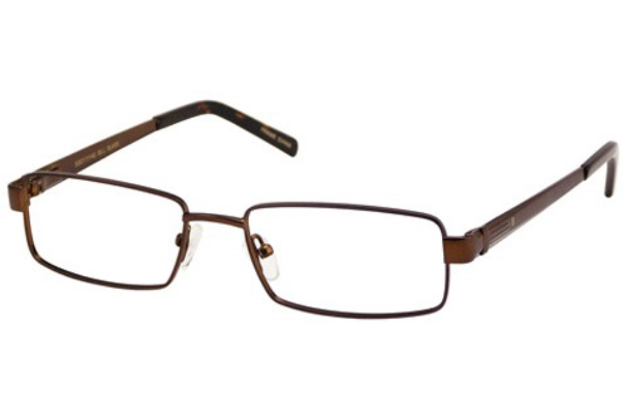 Bill Blass BB 1025 Eyeglasses in Chocolate