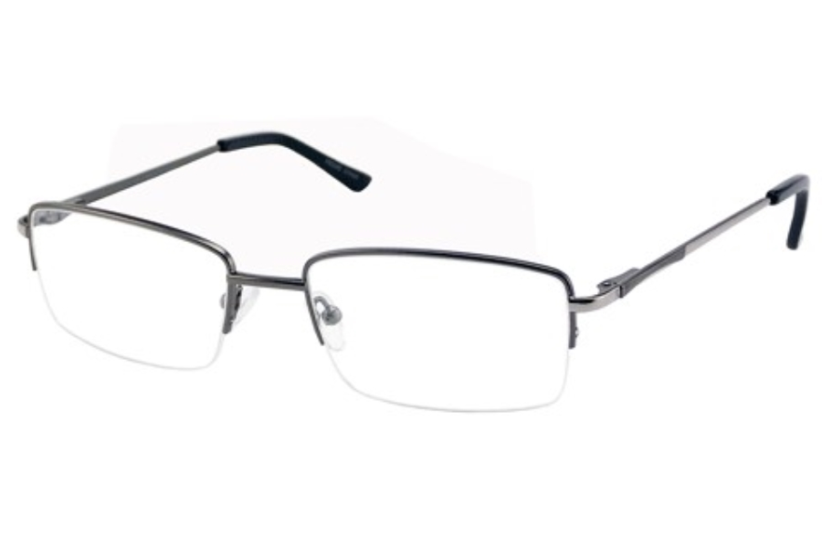Bill Blass BB 1029 Eyeglasses in Light Gunmetal