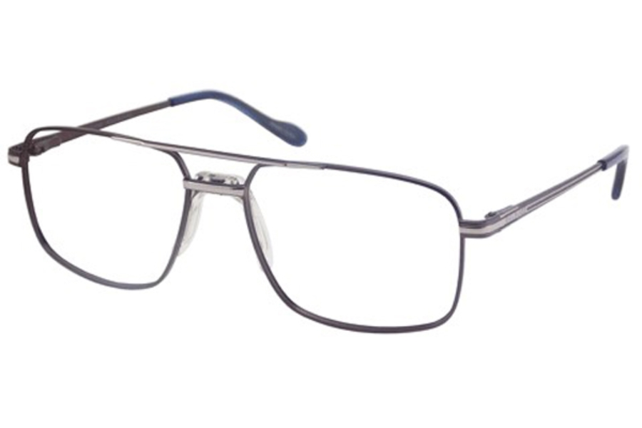 Bill Blass BB 1031 Eyeglasses in Dark Brown/Silver