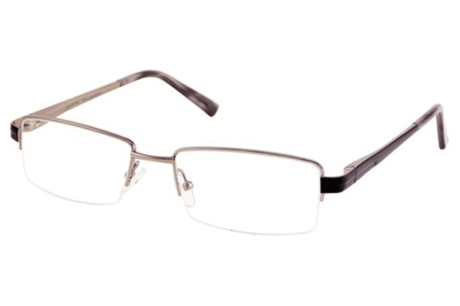 Bill Blass BB 1033 Eyeglasses in Light Gunmetal
