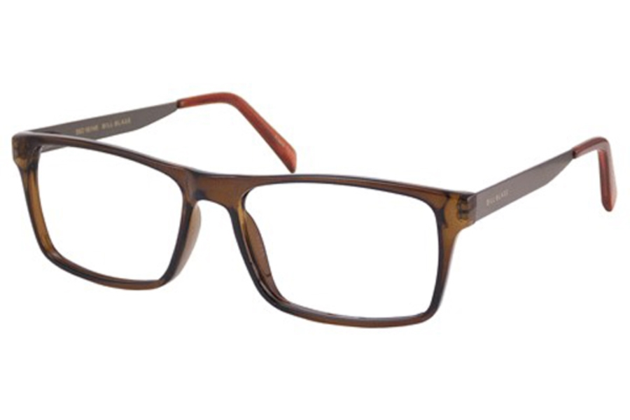 Bill Blass BB 1037 Eyeglasses in Brown Crystal