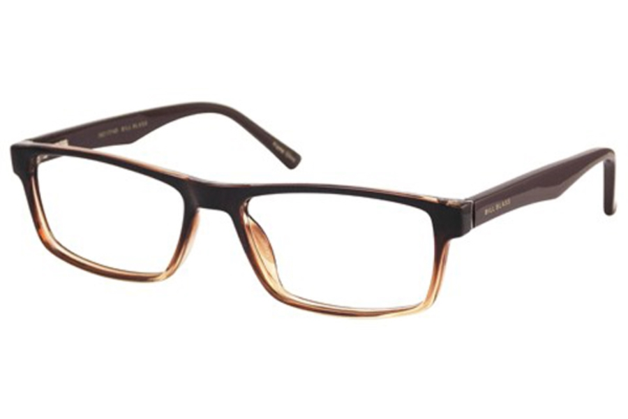 Bill Blass BB 1038 Eyeglasses in Brown Fade
