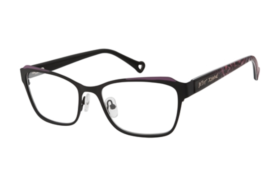 Betsey Johnson Butterfly Eyeglasses in BRN Brown
