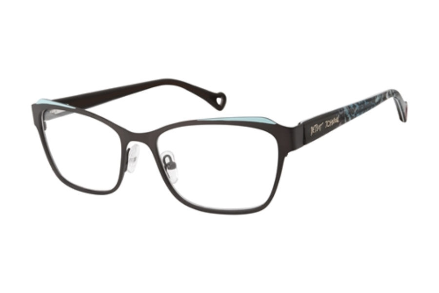Betsey Johnson Butterfly Eyeglasses in BLK Black