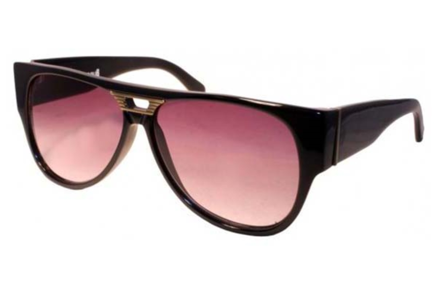 BLNQ Bungalow Sunglasses in Glossy Black