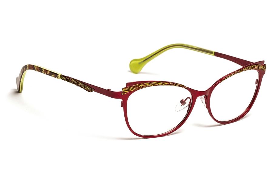 KENSIE Eyeglasses FEMININE Burgundy 52MM