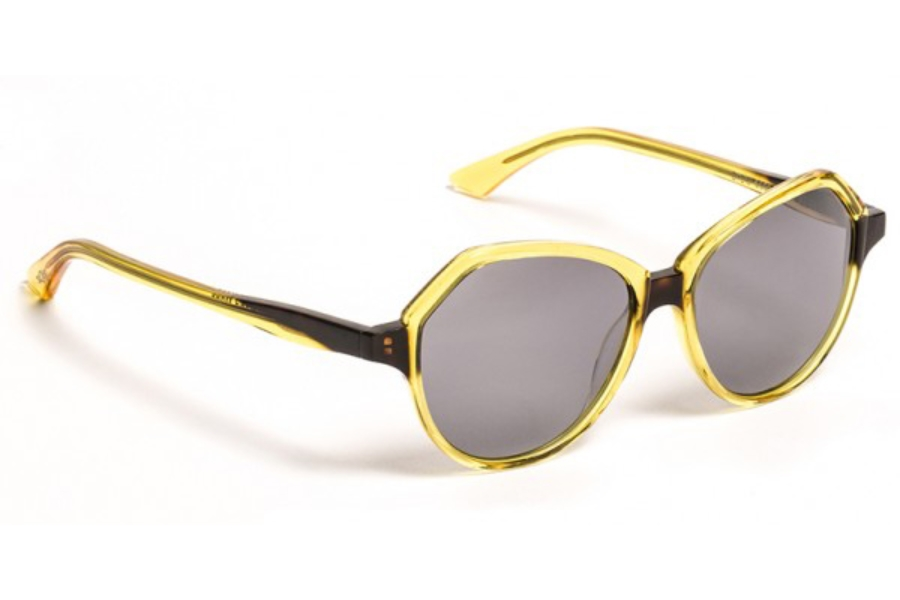 BOZ Dido Sunglasses in 5091 Sunglasses Yellow/Demi