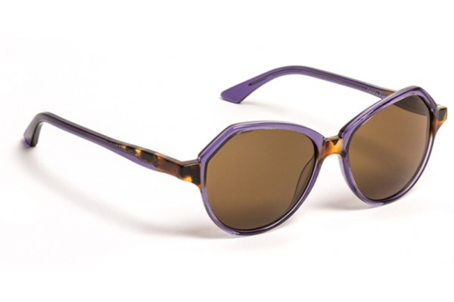 BOZ Dido Sunglasses in 7093 Sunglasses Purple/Demi