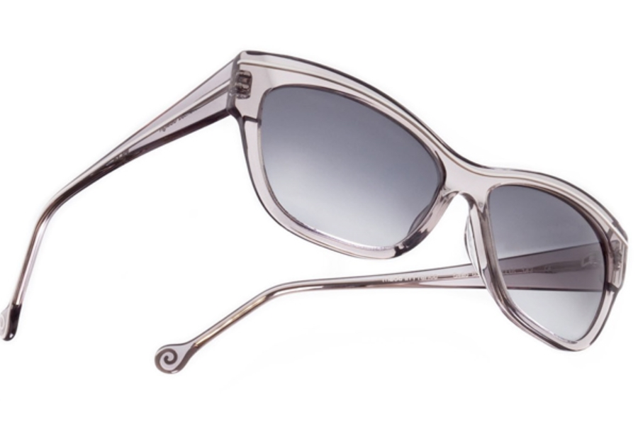 BOZ Salto Sunglasses in 0310 Grey Crystal / White Line
