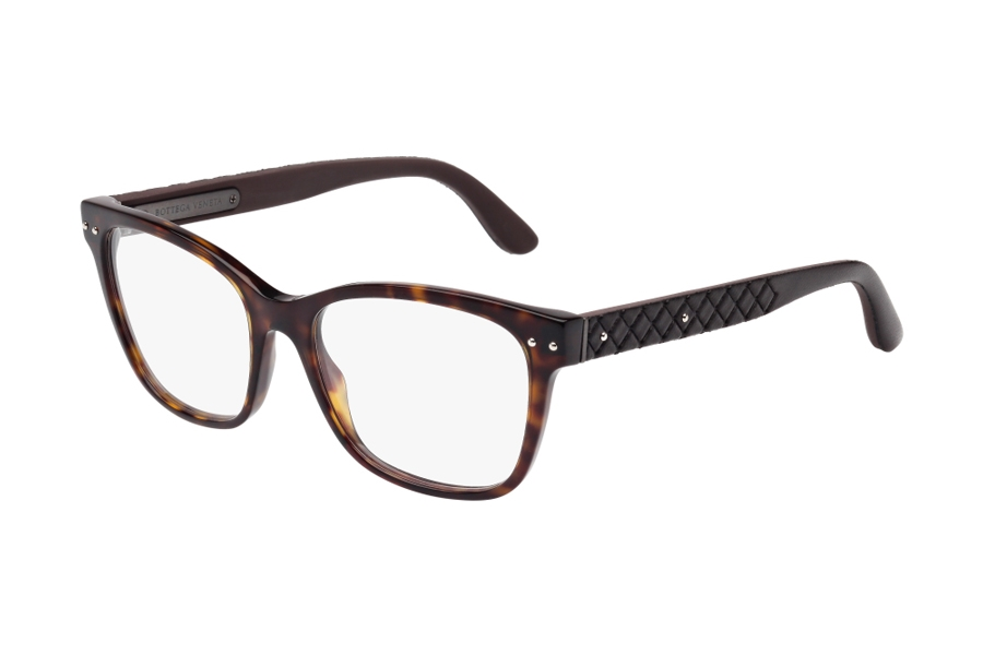 Bottega Veneta BV0010O Eyeglasses in 003 / 007 Dark Havana