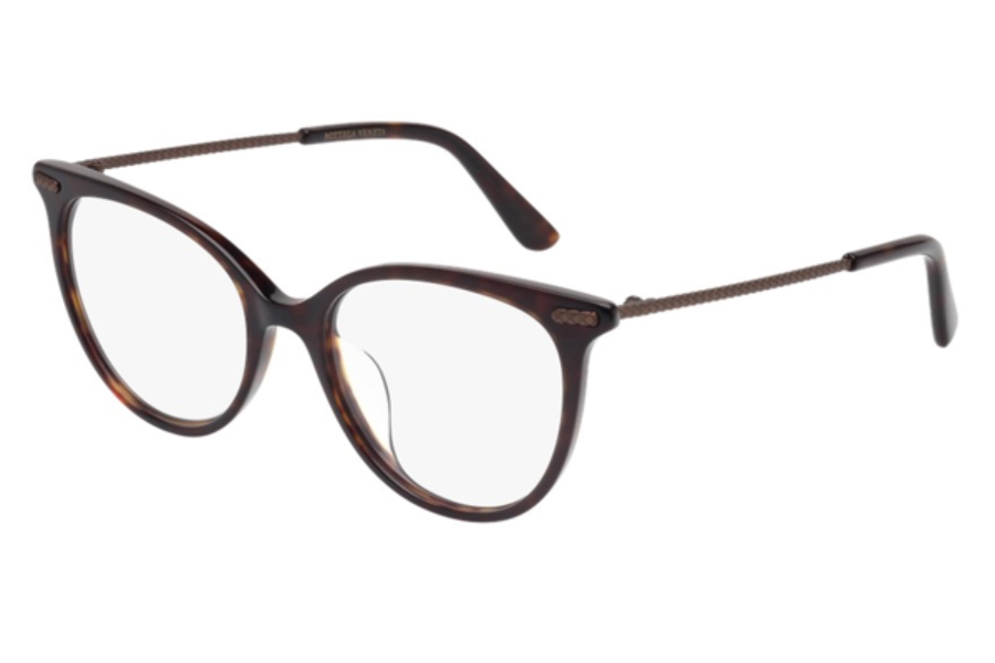 Bottega Veneta BV0031OA Eyeglasses in 004 Havana Bronze